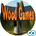 Wood Games 3D (free) logo