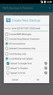 SMS Backup & Restore - screenshot thumbnail