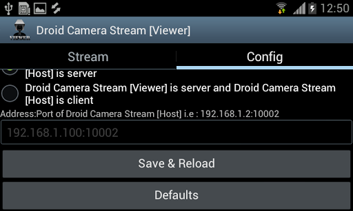 Droid Camera Stream [Viewer]