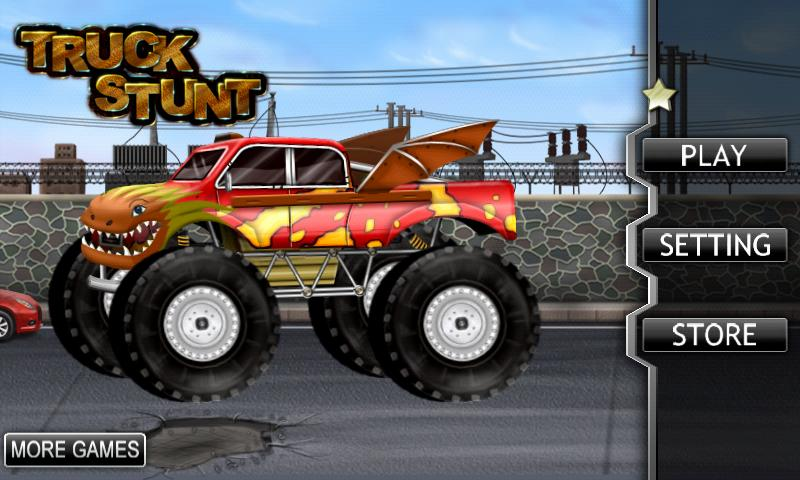 Monster Truck Stunt Lite Android Apps On Google Play