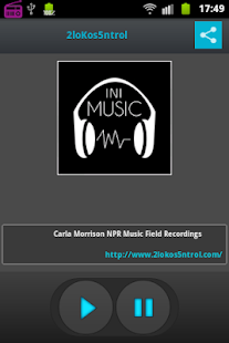 Radio Internet iniMusic- screenshot thumbnail