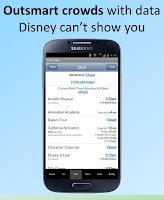 Screenshot of Disneyland Lines