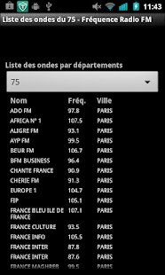 Fréquence Radio FM - screenshot thumbnail