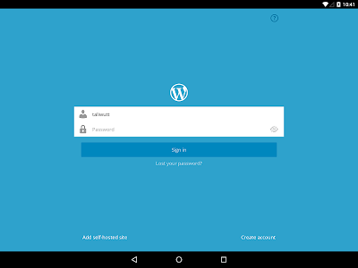 WordPress v2.6.1