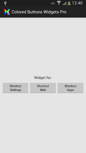 Colored Buttons Widgets Pro