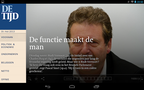 De Tijd - screenshot thumbnail
