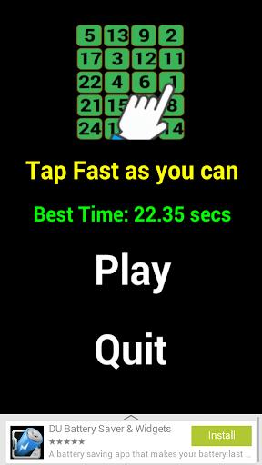 【免費休閒App】Tap as fast as you can-APP點子