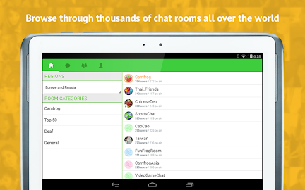 Camfrog - Group Video Chat Screenshot 14