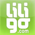 Liligo flight and hotel search icon