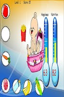 Screenshot of Baby Feeding Game