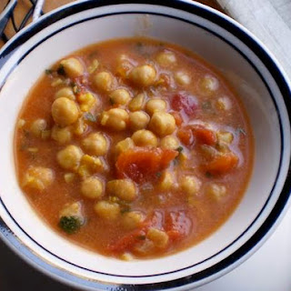 Moroccan-Style Chickpea Soup