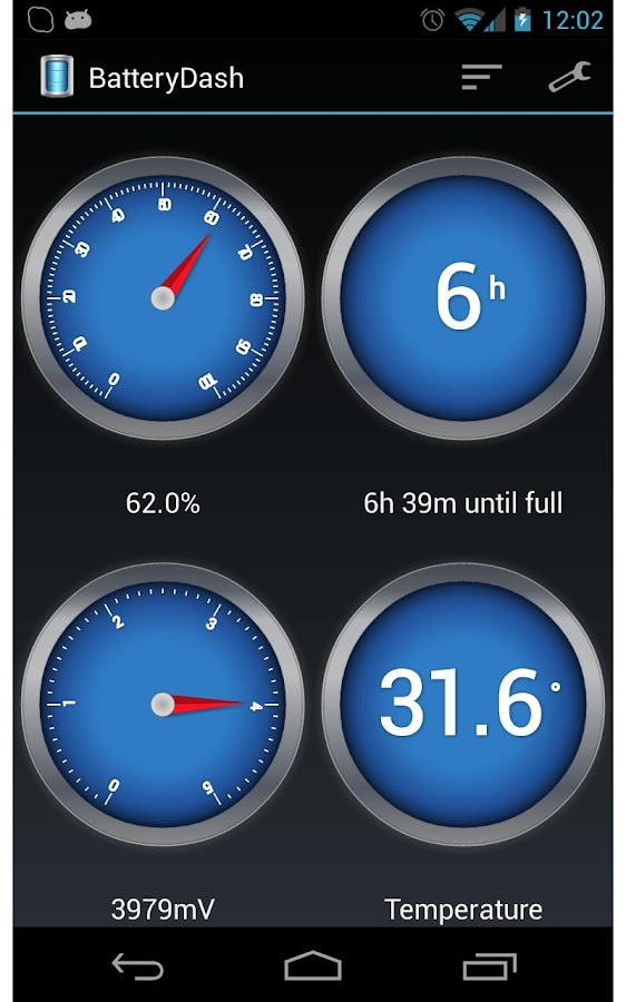 BatteryDash for DashClock - screenshot