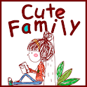 Cute Calendar Family Free icon