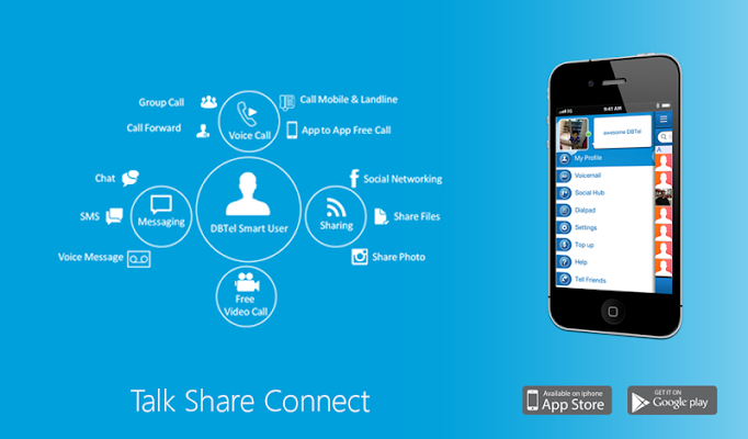 DBTel:Talk Share Connect - screenshot