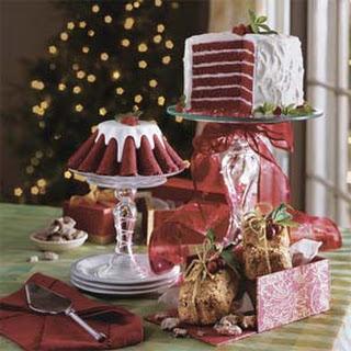 Chocolate-Red Velvet Layer Cake