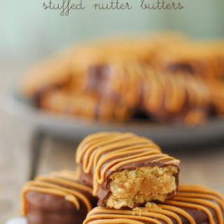Peanut Butter Cookie Dough Stuffed Nutter Butters