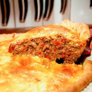 Cheeseburger Pie.