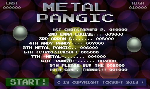 Metal Pangic