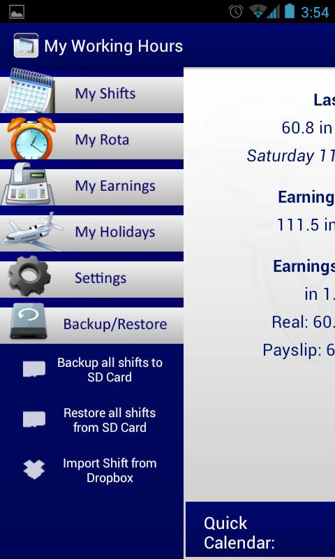 My Working Hours Free - screenshot