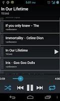 Screenshot of Simple Music Player