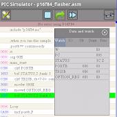 PICmicro simulator & assembler