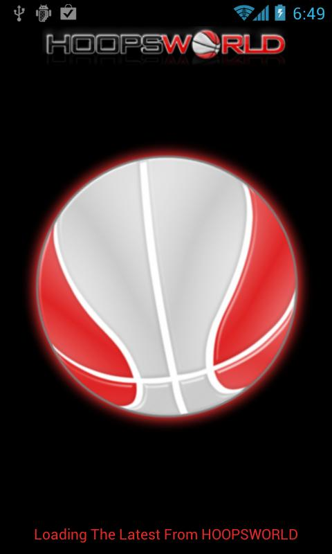 HOOPSWORLD Droid 1.0- screenshot