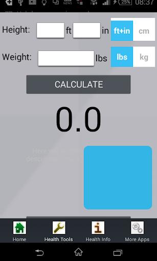 Female BMI Calculator