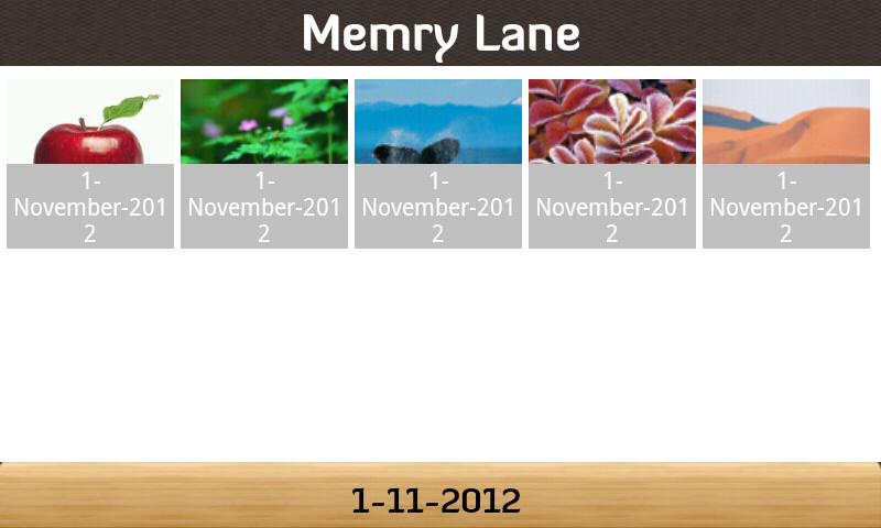 Memry Lane - screenshot