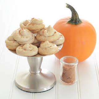Pumpkin Spice Meringues.