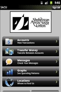 SACU Home Banking- screenshot thumbnail