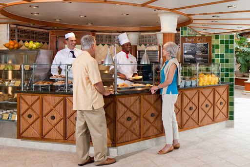 Radiance-of-the-Seas-Park-Cafe - Stop by the Park Cafe aboard Radiance of the Seas for a casual, quick 'n' easy lunch.