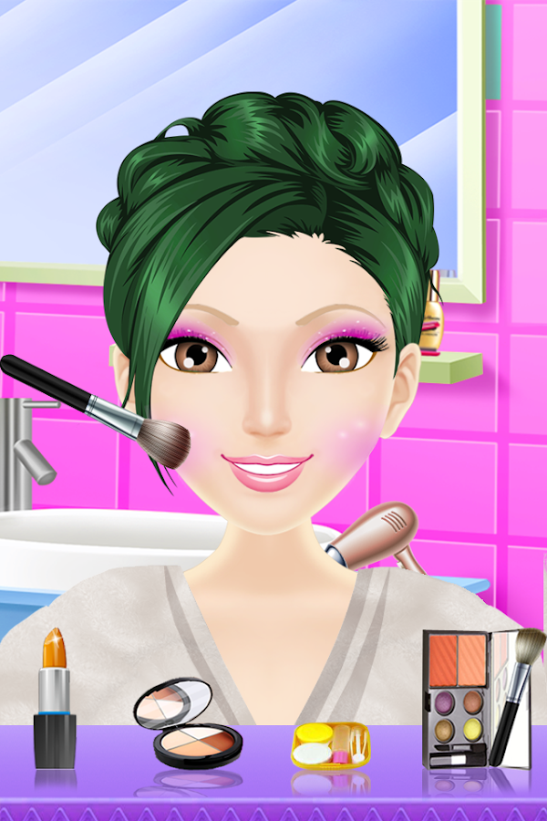 Sally Makeover Salon- screenshot