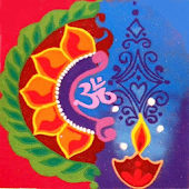 Festival Rangoli Making