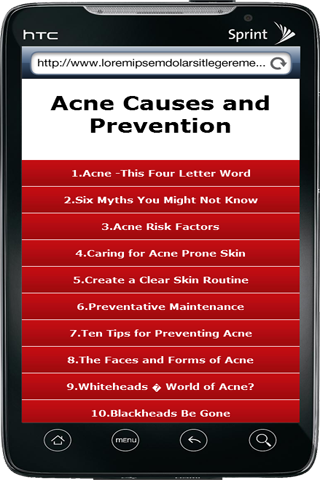 Acne Causes and Prevention