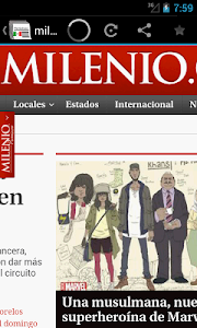 Newspapers & magazines Mexico screenshot 2