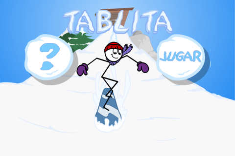 Tablita: captura de pantalla