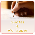 Quotes and Wallpaper icon