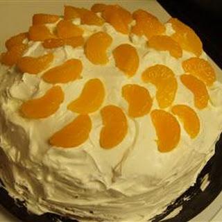 Orange Cream Cake IV.
