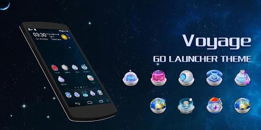 【免費個人化App】Voyage GO Launcher Theme-APP點子