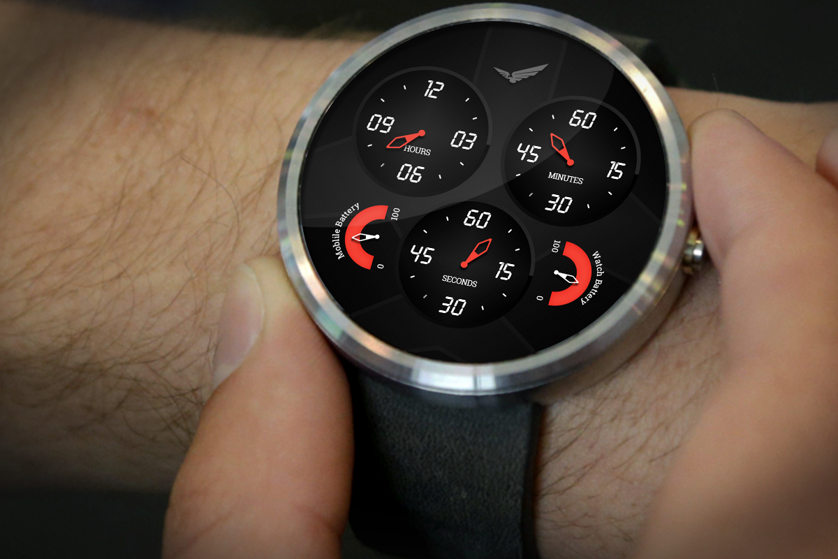 Analog Aviator Watch Face- screenshot