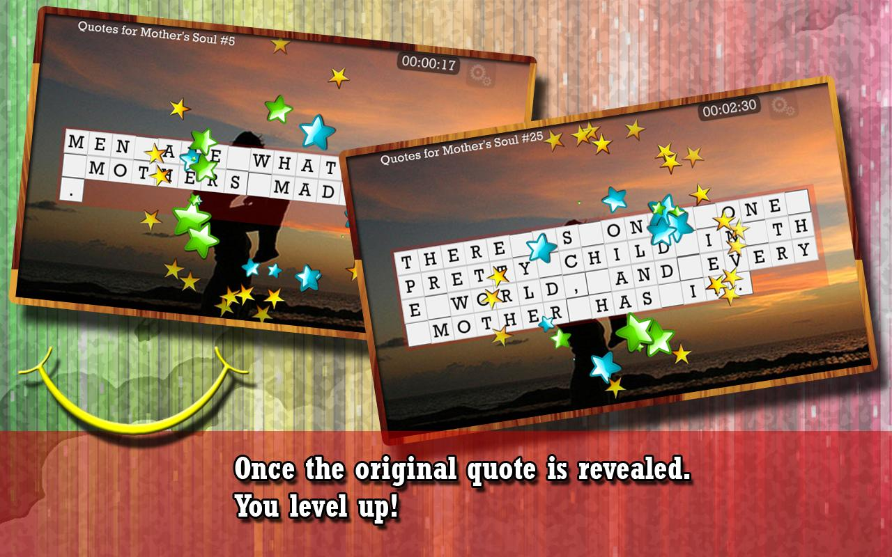 WORD PUZZLE for MOTHER'S SOUL- screenshot