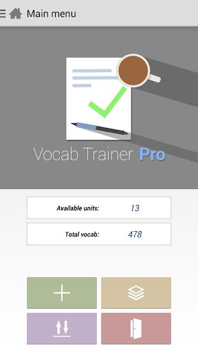 Vocab Trainer Pro