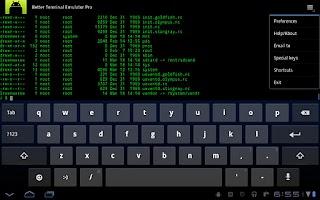 Screenshot of Better Terminal Emulator Pro
