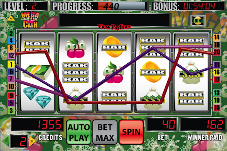 Mega Cash Slot Machine - screenshot thumbnail