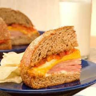Easy Warm Dinner Sandwich.