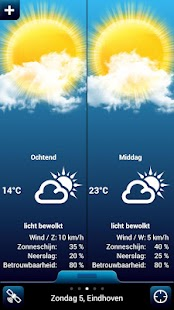 Weather for the Netherlands - screenshot thumbnail
