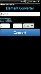 Element Converter- screenshot thumbnail