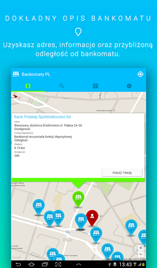 Cajeros autom ticos aplicaciones de android en google play for Buscador de cajeros