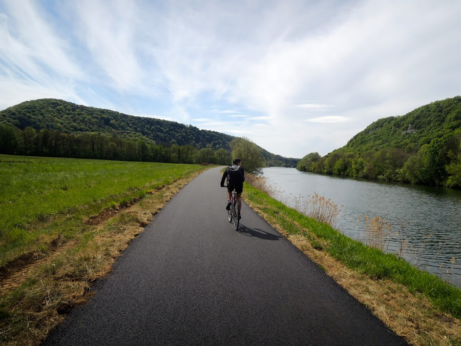 Cycling France by Bogdan Penkovsky - Landscapes Travel ( easiness, cycling, sunny, outdoor, summer )