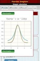 Screenshot of Integral calculator